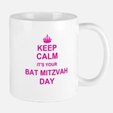 Keep Calm its your Bat Mitzvah Mugs