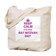 Keep Calm its your Bat Mitzvah Tote Bag