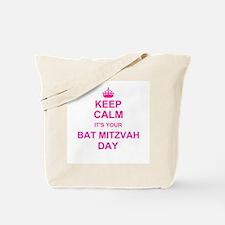 Keep Calm its your Bat Mitzvah Tote Bag