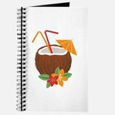 Tropical Coconut Drink Journal