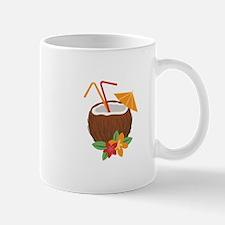 Tropical Coconut Drink Mugs