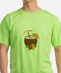 Tropical Coconut Drink T-Shirt