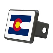 Colorado State Flag Hitch Cover