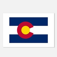 Colorado State Flag Postcards (Package of 8)