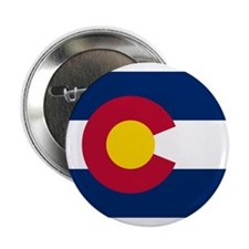 "Colorado State Flag 2.25"" Button"
