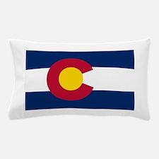 Colorado State Flag Pillow Case