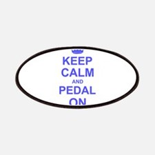 Keep Calm and Pedal on Patches