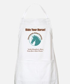 The Warmth of a Horse BBQ Apron
