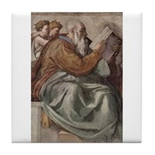 Zechariah Prophet of Israel Tile Coaster