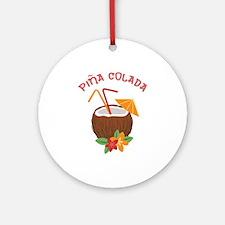 Pina Colada Ornament (Round)