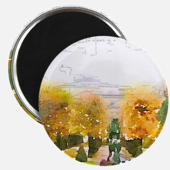 salzburg,watercolor Magnets