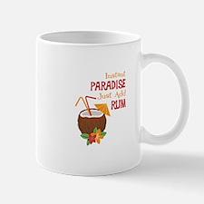 Instant Paradise Just Add Rum Mugs