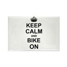 Keep Calm and Bike on Magnets