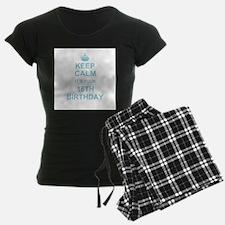 Keep Calm its your 16th Birthday - blue pajamas