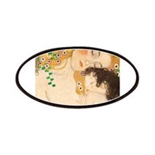 Klimt Mother and Child vintage art Patches
