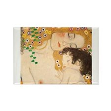 Klimt Mother and Child vintage art Magnets