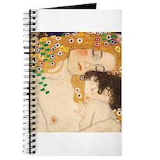 Klimt Mother and Child vintage art Journal