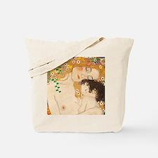 Klimt Mother and Child vintage art Tote Bag