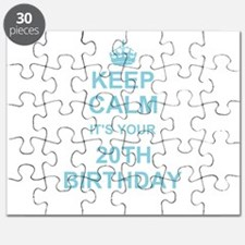 Keep Calm its your 20th Birthday Puzzle