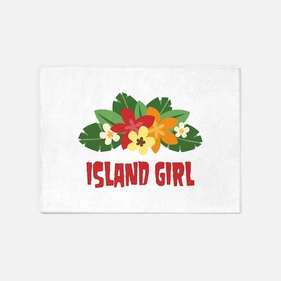 Island Girl 5'x7'Area Rug