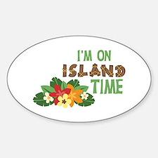 Im On Island Time Decal