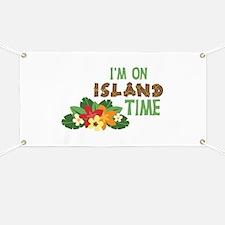 Im On Island Time Banner