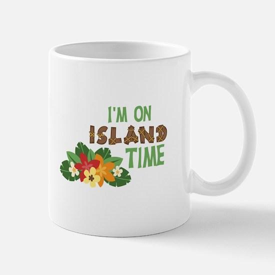 Im On Island Time Mugs