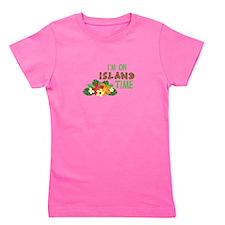 Im On Island Time Girl's Tee