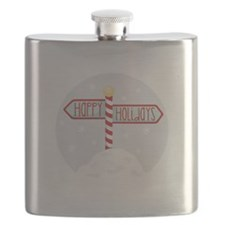 Happy Holidays Flask