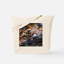 Mandarin Autumn Tote Bag