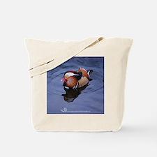 Mandarin Blue Violet Tote Bag