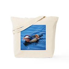 Mandarin Blue Boy Tote Bag