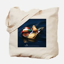 Mandarin Midnight Blue Tote Bag