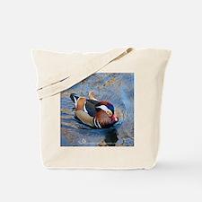 Mandarin Kaleidoscope Tote Bag