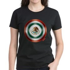 Mexican Flag Shield T-Shirt