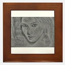 Nicole Scherzinger Framed Tile