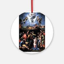 Transfiguration Ornament (Round)