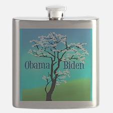 Funny Obama biden 2008 Flask