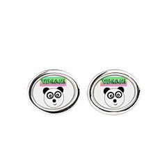 VEGAN! Panda Cufflinks