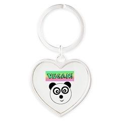 VEGAN! Panda Keychains
