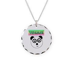 VEGAN! Panda Necklace