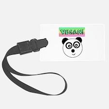 VEGAN! Panda Luggage Tag
