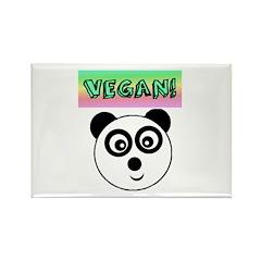 VEGAN! Panda Magnets