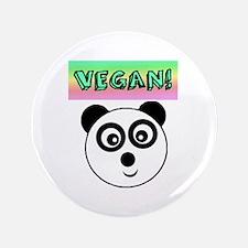 "VEGAN! Panda 3.5"" Button"