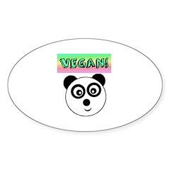 VEGAN! Panda Sticker
