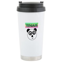 VEGAN! Panda Travel Mug