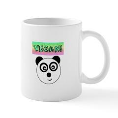 VEGAN! Panda Mugs
