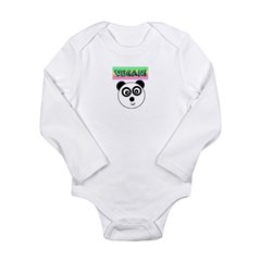 VEGAN! Panda Body Suit