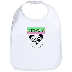 VEGAN! Panda Bib