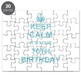 Ladies 70 birthday Puzzles